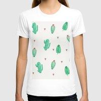 cactus T-shirts featuring CACTUS by Ceren Aksu Dikenci