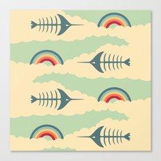 bittersweet pattern Canvas Print