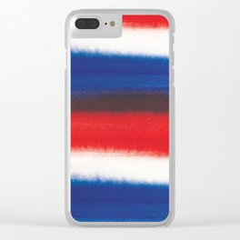 Watercolor Pattern design by #MahsaWatercolor Clear iPhone Case