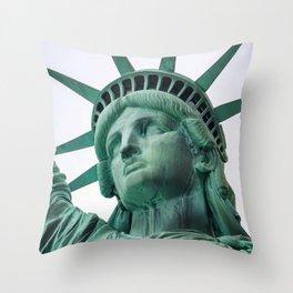 Statue of Liberty, New York Throw Pillow