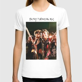 Birds in the Boneyard, Print One: Petey and Mikey on the Mic T-shirt