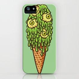 Mutant Ice Cream (slime) iPhone Case