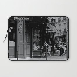 At the Brasserie Laptop Sleeve