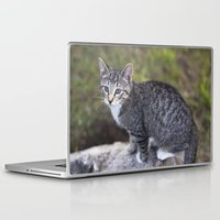 hiking Laptop & iPad Skins featuring Hiking Friend by Jeffrey Filman