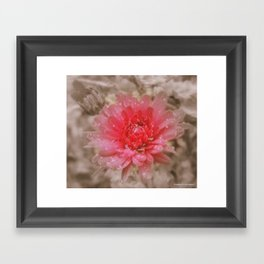 feel Framed Art Print