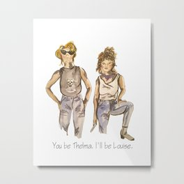Thelma and Louise Metal Print