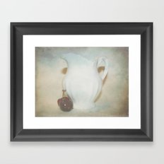 Too Much In Love To See Framed Art Print