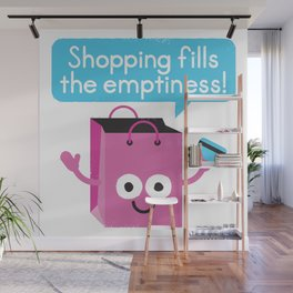 Retail Therapy Wall Mural