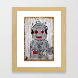 ROBOT 10 Framed Art Print