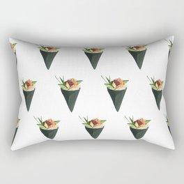 Salmon Handroll Rectangular Pillow