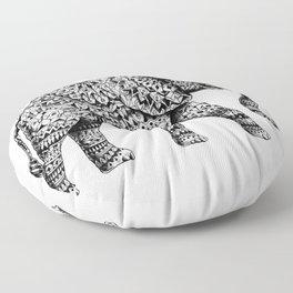 Ornate Elephant 3.0 Floor Pillow