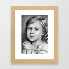 Child Portrait 01 Framed Art Print
