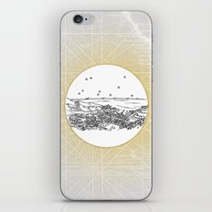 Avalon, Santa Catalina Island, California City Skyline iPhone & iPod Skin