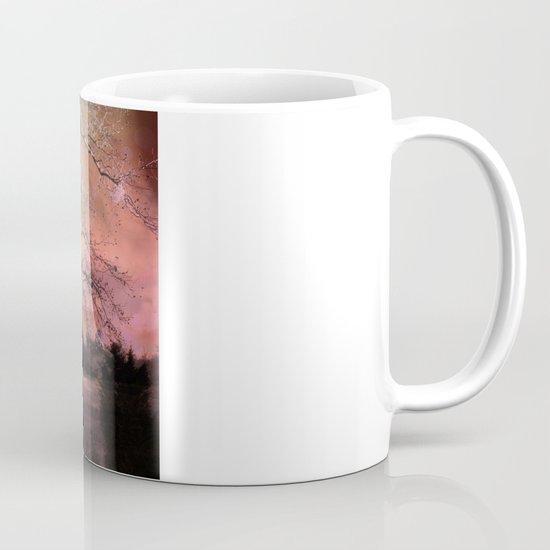 Surreal Trees Ravens Landscape  Mug