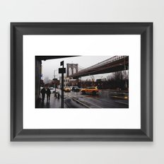 NY Bridges Series No.2 Framed Art Print