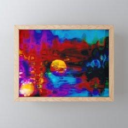 Strange Moon Framed Mini Art Print