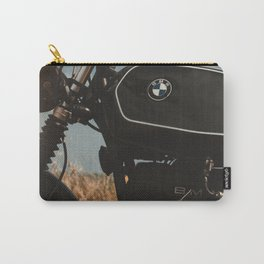 Vintage motorcycle photo, old motorbike, deep of field, bokeh effect, hasselblad Carry-All Pouch