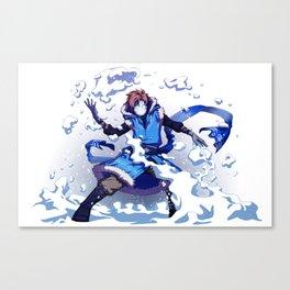 Snow Bender Cryaotic Canvas Print