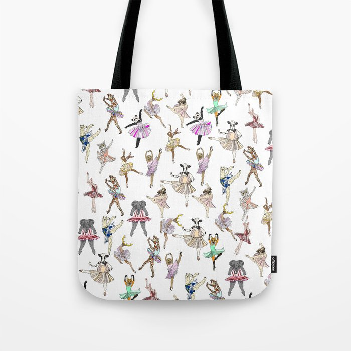 Animal Square Dance Tote Bag