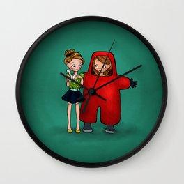 Toxic Friendship Wall Clock