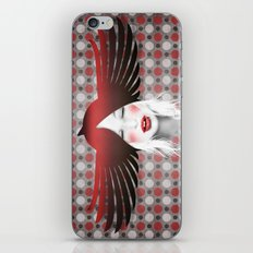 MonGhostX - Close, Fly. Dreams... of a free world ! Peace. iPhone & iPod Skin