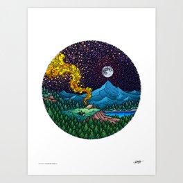 AN ADVENTURER'S DREAM - Colored - Visothkakvei Art Print