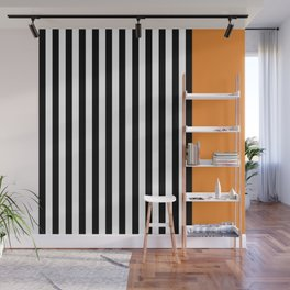 Liquorice allsorts, orange Wall Mural