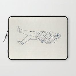 woman with phone Laptop Sleeve