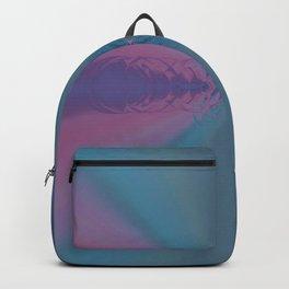Multi Pastel Circular Ring Abstract Desig Backpack