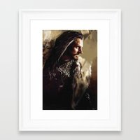thorin Framed Art Prints featuring Thorin by Wisesnail