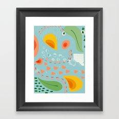 Greenery at 6 O' Framed Art Print