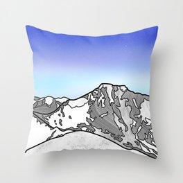 Ben Nevis Scotland Throw Pillow
