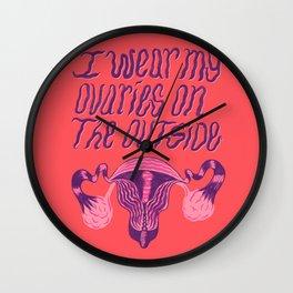 Ovaries Wall Clock