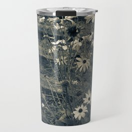 Country Flowers Travel Mug