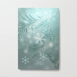 magical snow Metal Print