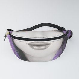 Her Purple Fanny Pack