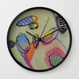 Pistachio Parfait Wall Clock