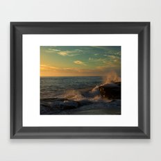 Golden Afternoon Framed Art Print