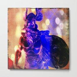 Disco Viking Metal Print