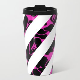 off white camo Travel Mug