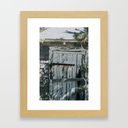 Abandoned Shack Framed Art Print