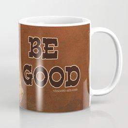 Be Good: Leather Muscular Man illustration Coffee Mug