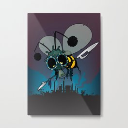 The last honey bee Metal Print