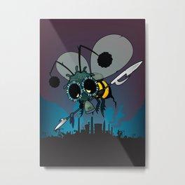 The last honey bee Metal Print