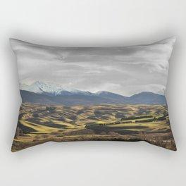 Central Otago in Winter Rectangular Pillow
