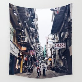 Up the Street Wall Tapestry