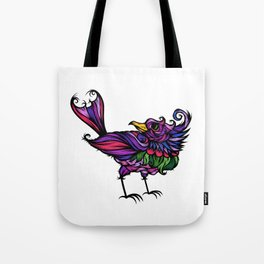 Frilly Bird Tote Bag