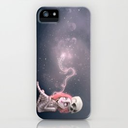 Still waiting for something that is not here yet iPhone Case