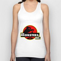 monsters inc Tank Tops featuring Monsters, Inc Logo.  by Gary Wood