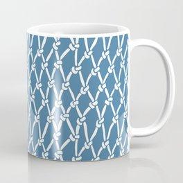 Fishing Net Blue Coffee Mug